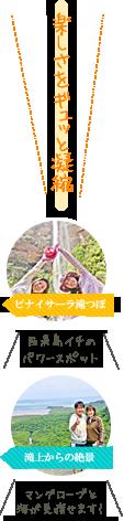 西表島ピナイサーラの滝・滝上滝つぼ カヌー&トレッキングツアー