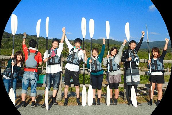 西表島カヌー&トレッキングツアーご参加の方へ