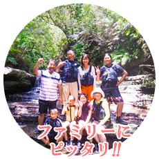 マングローブカヌー&滝遊びファミリーツアー
