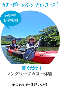 西表島お手軽クーラの滝カヌー&トレッキング体験ツアー